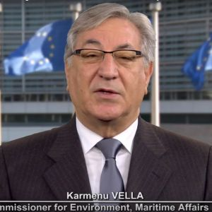 Commissioner Karmenu Vella's message for the 2nd international E-Waste Day